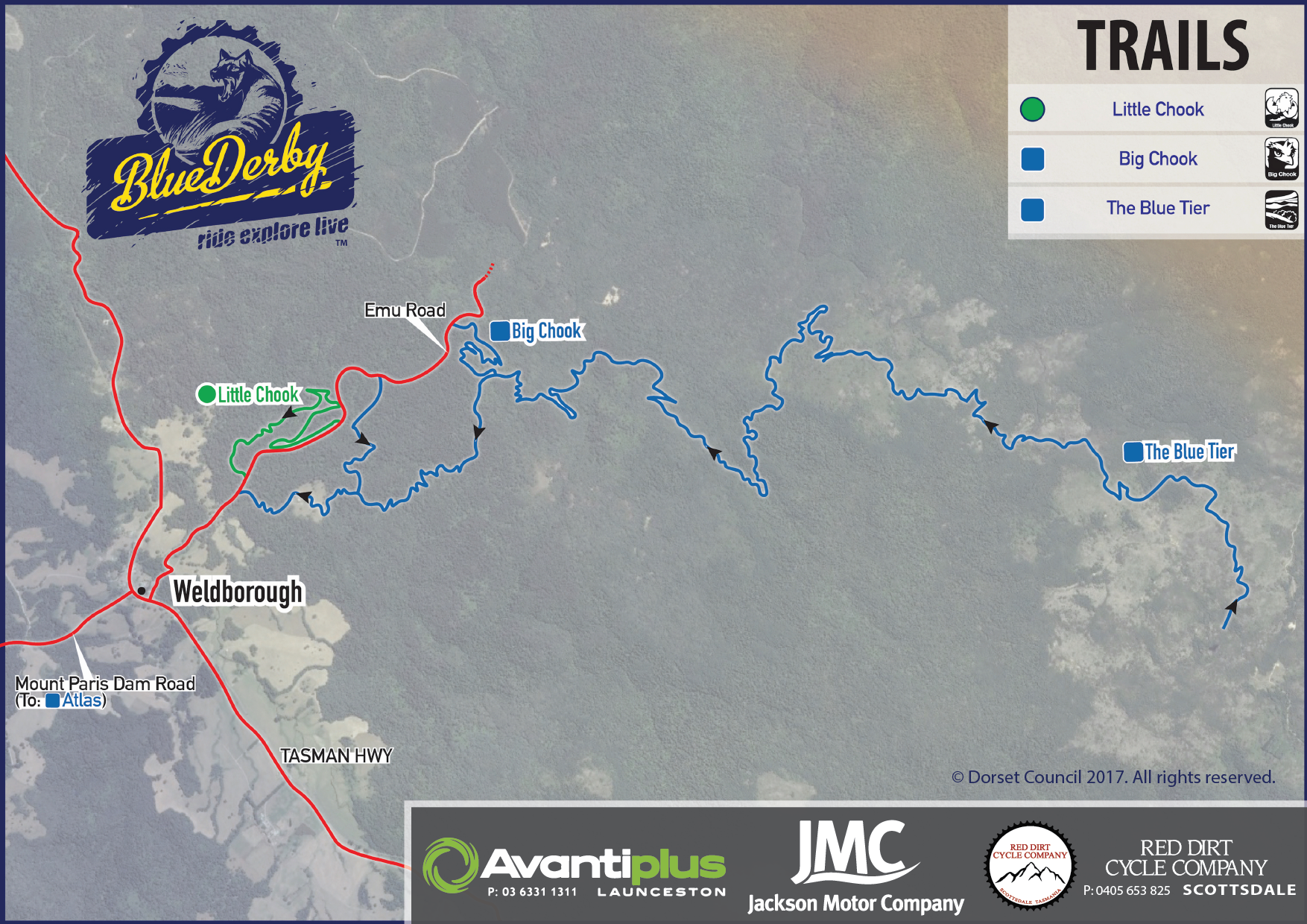blue derby trail map pdf